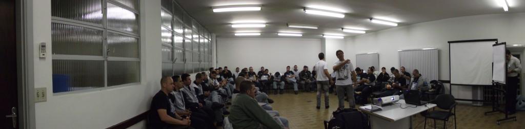 Palestra para motociclistas funcionários da Porto Seguro Vistoria