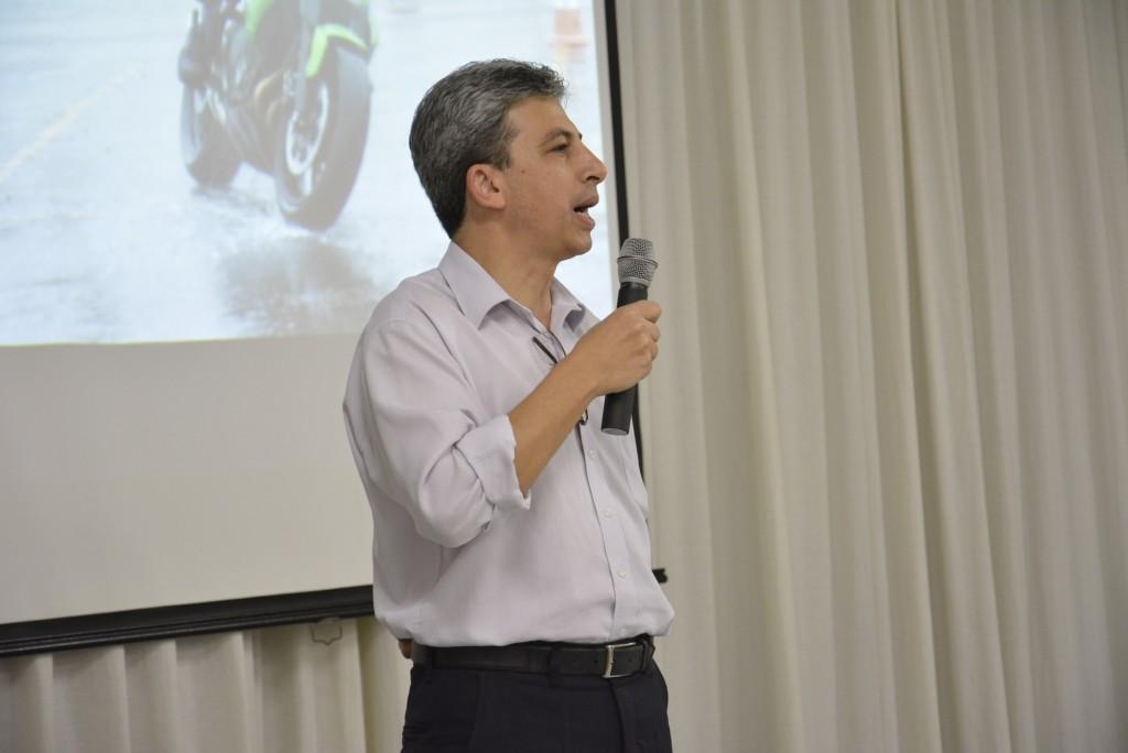 Ocimar, responsável pela sucursal Londrina-PR da Porto Seguro