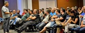 Dia 18 de Agosto de 2018, palestra Porto Seguro, para Segurados Porto Seguro MOTO. Matriz SP