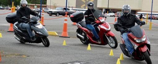 Scooter, metodologia aplicada nos cursos do Amaral para esta ciclística