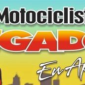 """""""MOTOCICLISTA LIGADO, eu apoio"""". Evento AMASH. Santa Helena-PR"""