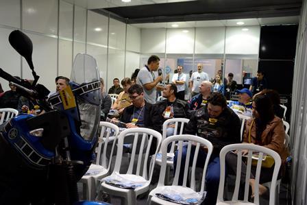 Brasil Motorcycle Show, apoio Sucursal de Curitiba-PR da Porto Seguro