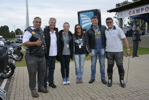 Equipe da Porto Seguro, sucursal Curitiba, com Udenir da corretora REVOLÚTICA,  e com Pedro Berton, do 5º Quartel General do Exército de Curitiba-PR