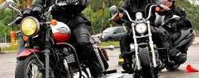 Curso Livre Defensivo, dia 24 de Fevereiro de 2019, para todos os tipos de motos. Em Santo André-SP